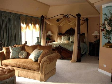 regal bedroom regal style master bedroom and sitting area traditional