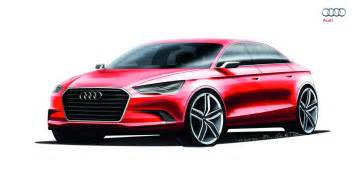 Audi Onlinr Audi Rs3 Sedan Concept Real Photos Surface