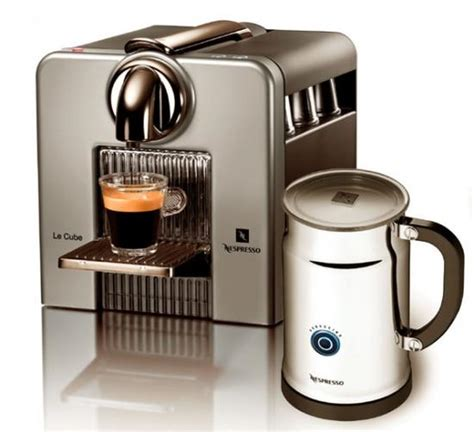 le cube c185 stylish coffee machine on your counter top hometone