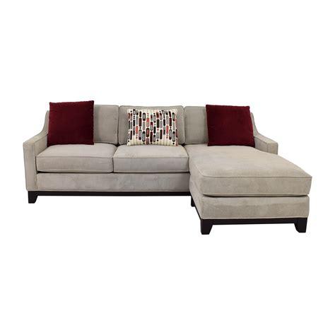 Grey Tweed Sectional Sofa by 48 Furniture Kerridon Collection Grey Tweed
