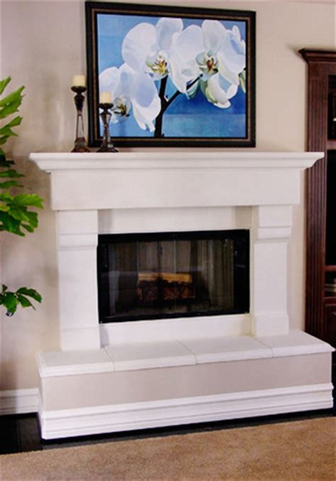 Raised Fireplaces by Family Room Fireplace Remodel Traditional Family Room