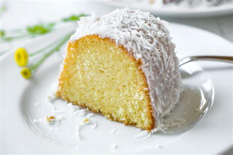 lemon bundt cake with creamy coconut glaze the cozy apron