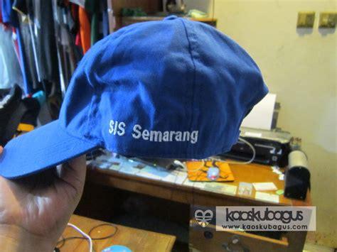 Bordir Nama Di Topi Bordir Topi Jasa Bordir Topi Bordir Topi Semarang Bordir Komputer Semarang