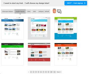 sitebuilder features advanced web site publishing