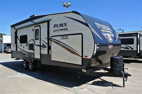 Outback Awnings 2017 New Palomino Puma Unleashed Travel Trailers 25 Tfs