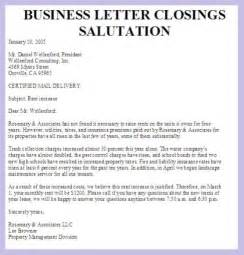 Business Letter Closing Salutation Format salutations for letters russianbridesglobal