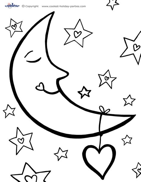 moon coloring pages for adults moon coloring pages for adults coloring pages