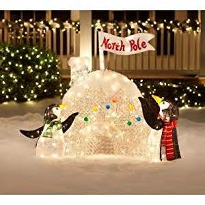 amazon com christmas decoration yard lawn garden lighted
