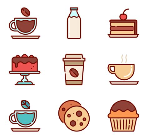 Cups Coffee Shop coffee cup icons 2 982 free vector icons