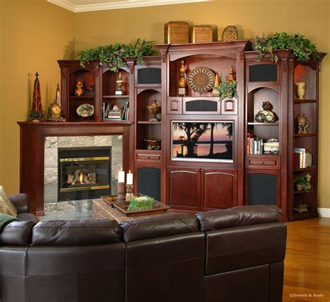 Wall Decoration Ideas For Living Room by Furniture Design Gallery Entertainment Centers Custom