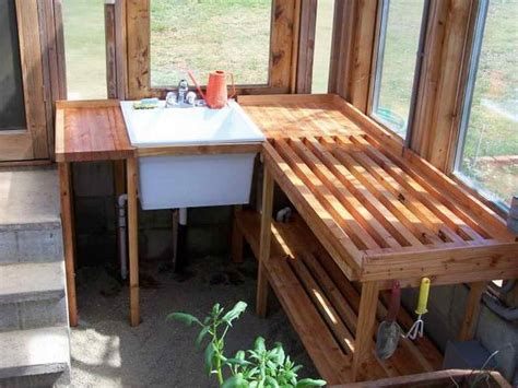 greenhouse potting bench 22 best potting bench outdoor sink ideas images on