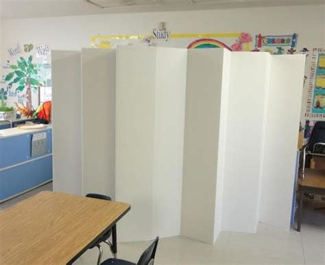 cardboard room dividers 5 1 2 ft durable cardboard diy room divider student
