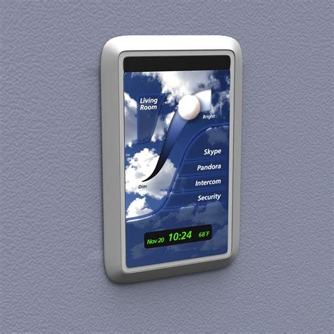 touch screen light switch bright switch the generation of wall technology