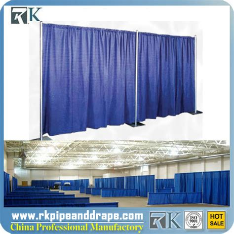 trade show drapes and pipes rk wholesale trade show pipe and drape for exhibition