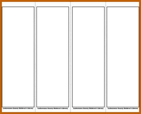 10 11 Bookmark Template Word Resumesheets Microsoft Bookmark Template