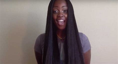 crochet braids with straight kanekalon hair 14 crochet braid styles and the hair they used un ruly