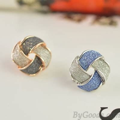 Geometry Ear Stud fashion frosted geometry ear studs earrings fashion