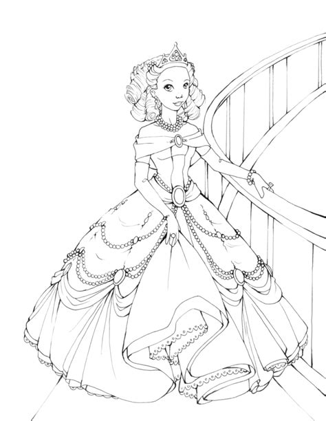 princess gown coloring pages barbie coloring pages barbie coloring pages fashion kids