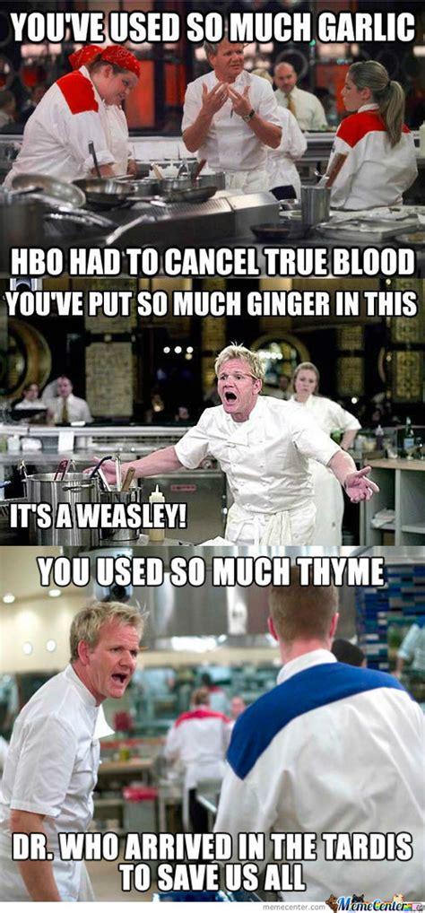 Hells Kitchen Meme - chef ramsey compilation by jaredwilson13 meme center