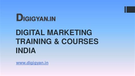 Digital Marketing Degree Course by Digital Marketing Courses
