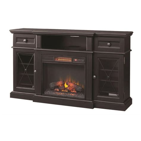 Electric Fireplace With Shelves by Home Decorators Collection Rosengrant 59 5 In Media