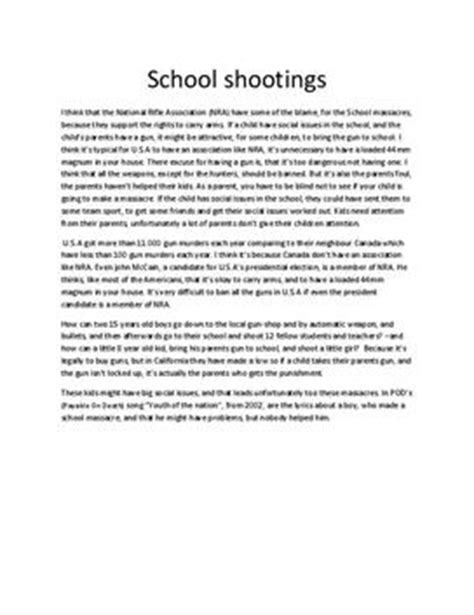 Argument For Gun Essay by Writing Introductions For Rogerian Argument Essay On Gun