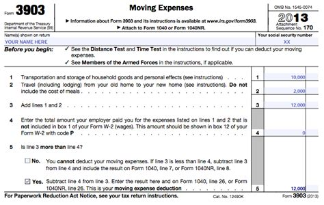 Cost Of Mba Is A Work Related Deductable Educational Expense by How To Get A Moving Expenses Deduction From Your Taxes
