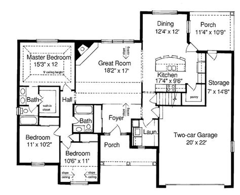 Ranch Style Floor Plan Best 25 Ranch Style House Ideas On Ranch