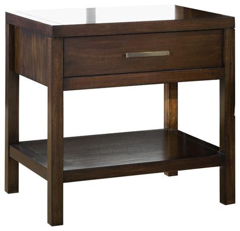 uptown 2 drawer charging station nightstand contemporary uptown one drawer nightstand contemporary nightstands