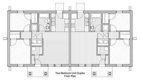 2 bedroom duplex floor plans casa bonita aho architects llc