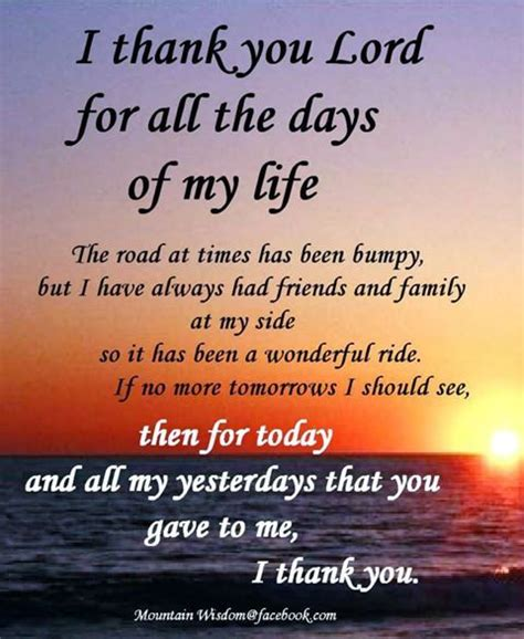 Today Has Been On The Sucky Side by I Thank You Lord For All The Days Of My The Road At