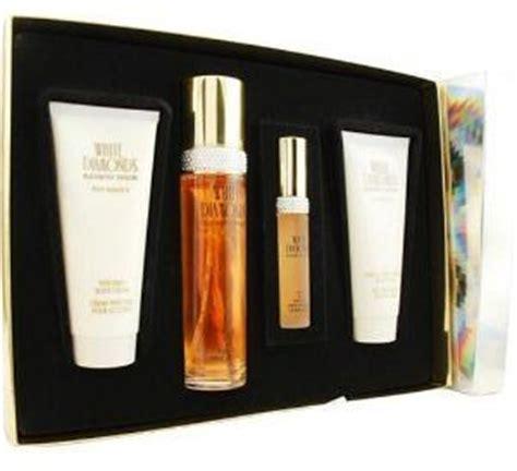 Set Joana Abu Ml white diamonds perfume for 100ml 4 gift set by elizabeth price review and