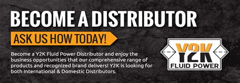 become a distributor y2k fluid power