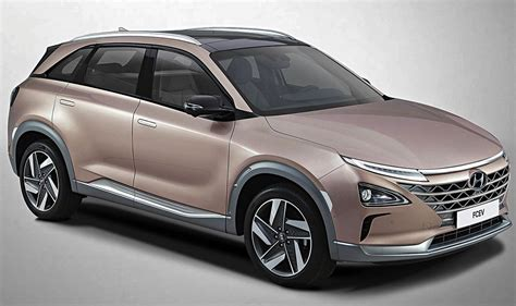 hyundai crossover hyundai to unveil fuel cell crossover at ces autosfan