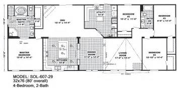Double Wide Floor Plans Double Wide Floorplans Mccants Mobile Homes