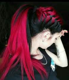 dyed hairstyles for black best 25 emo hairstyles ideas on pinterest scene hair
