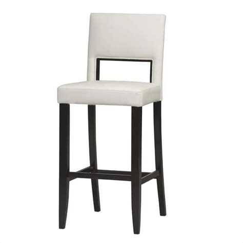 bar stools for white kitchen 30 quot high bar stool in off white 14054wht 01 kd u