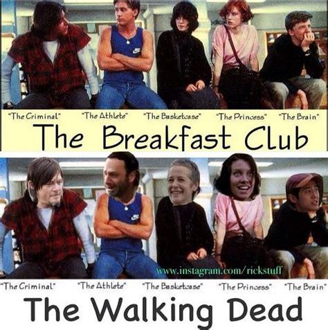 Breakfast Club Meme - the walking dead funny memes the walking dead funny