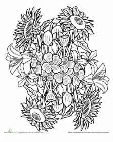 flower mandala worksheet education com