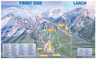 lake louise canada map trail maps the lake louise ski resort