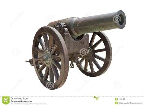 spanish howitzer cannon royalty free stock photos image