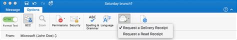 Office 365 Outlook Read Receipt Outlook 2016 For Mac Gets Four Highly Requested New Features