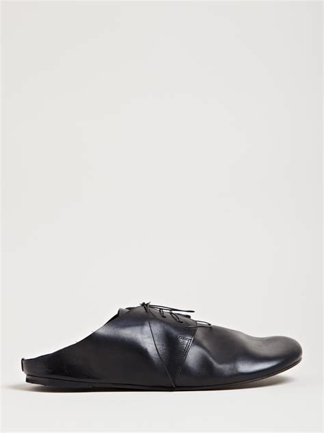 marsell shoes mars 232 ll mens strambo shoes in black for lyst