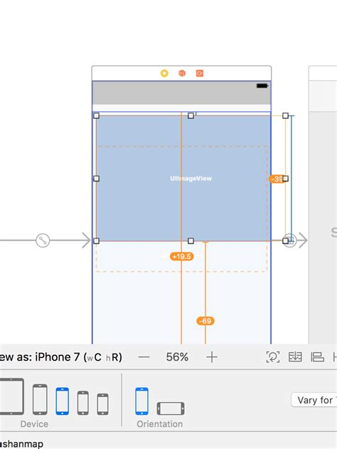 set layout width height ios how to set fill width and custom height in layout