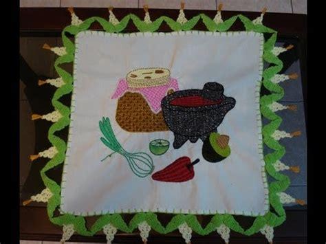 patrones de frutas tejidas a mano puntadas para servilleta imagui