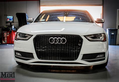 Audi A4 Grill by Front Grille For 2009 14 Audi A4 S4 B8 5 Rs4 Style