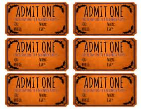free halloween party movie ticket printable frugalful
