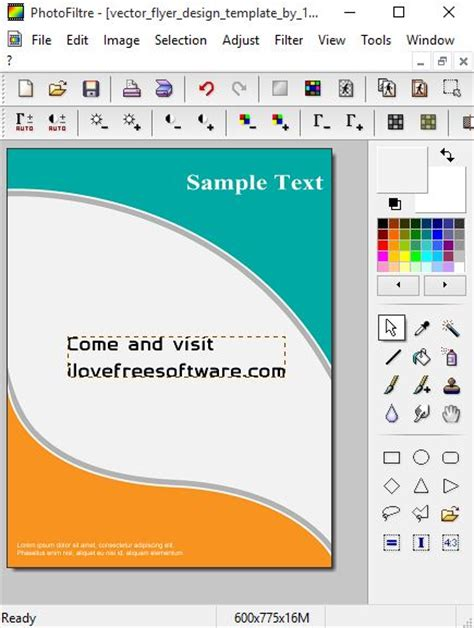 poster layout software 5 free poster design software for windows 10
