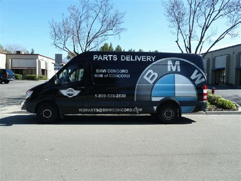 Bmw Concord Service by Custom Graphic Wrap For 170 Sprinter Bmw Concord Ca
