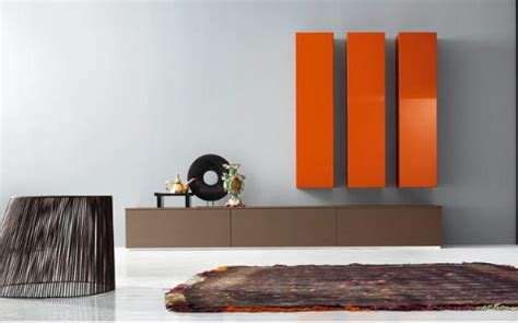 modern wall furniture contemporary furniture pianca spazio wall unit